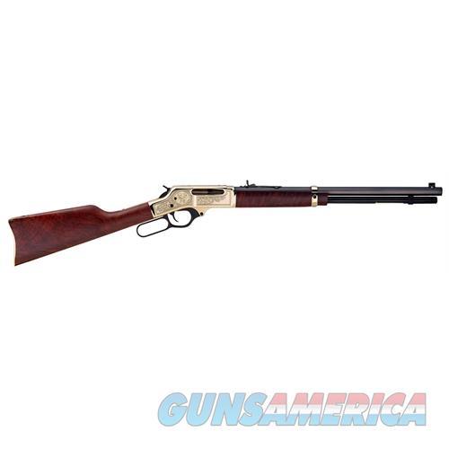 "Henry H009bwl Big Boy Special Wildlife Brass Lever 30-30 Winchester 20"" 5+1 American Walnut Stk Blued Barrel/Brass Receiver H009BWL  Guns > Rifles > H Misc Rifles"