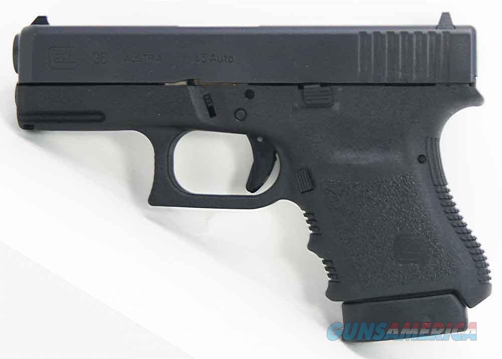 "Glock G36 45Acp 3.7"" 6Rd  Semi PI3650201FGR  Guns > Pistols > G Misc Pistols"