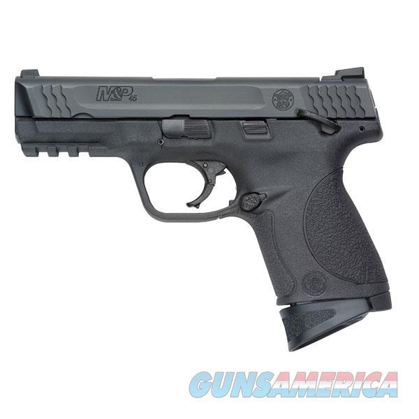 Smith & Wesson M&P 2.0 45 Semi Auto Pistol 45 Acp, 4 In, Poly Grp, 8+1 Rnd, Compact Blk Frame 109108  Guns > Pistols > S Misc Pistols