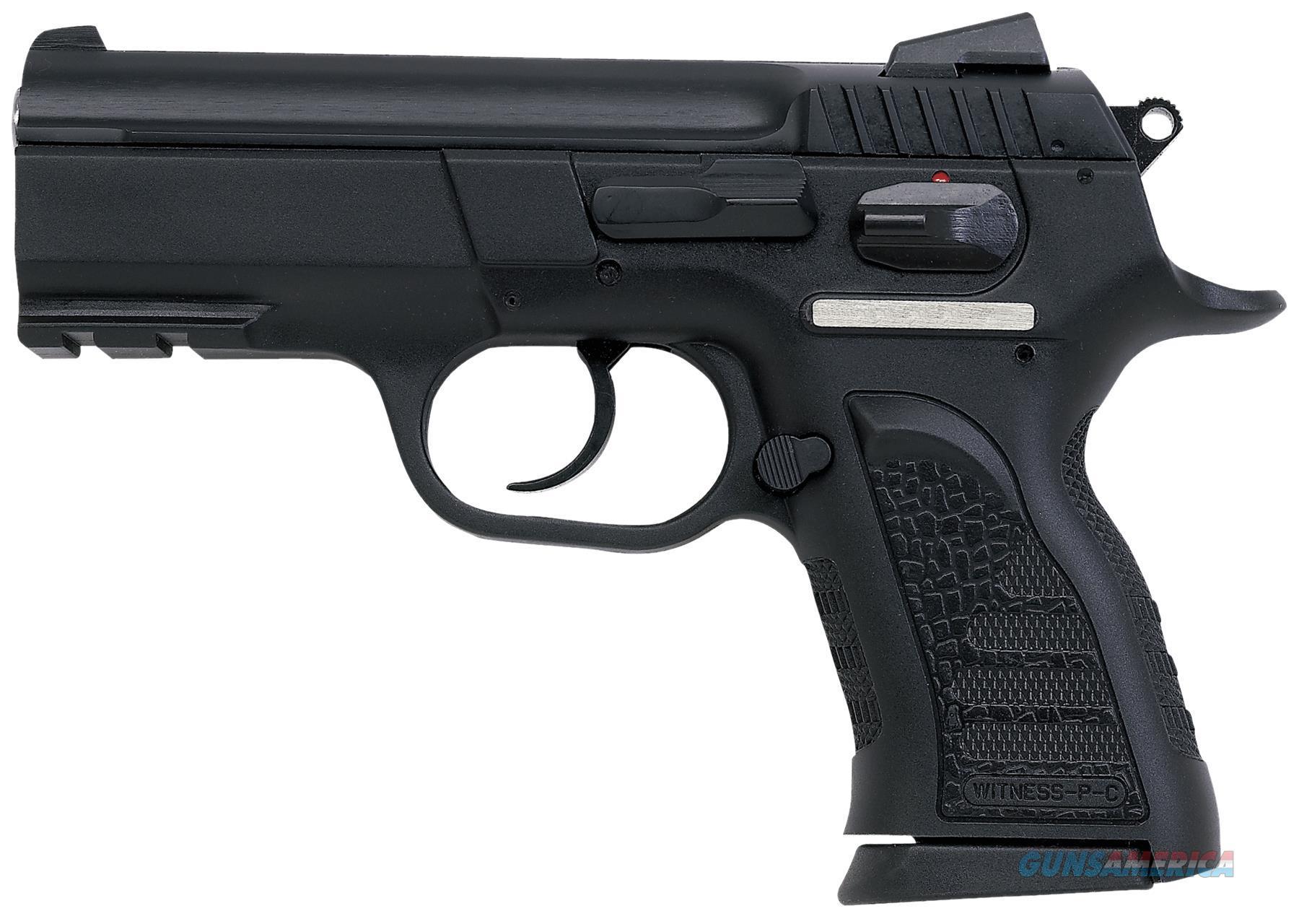 "Eaa 999106 Witness P Compact Sa/Da 9Mm 3.6"" 14+1 Poly Grip/Frame Black 999106  Guns > Pistols > E Misc Pistols"