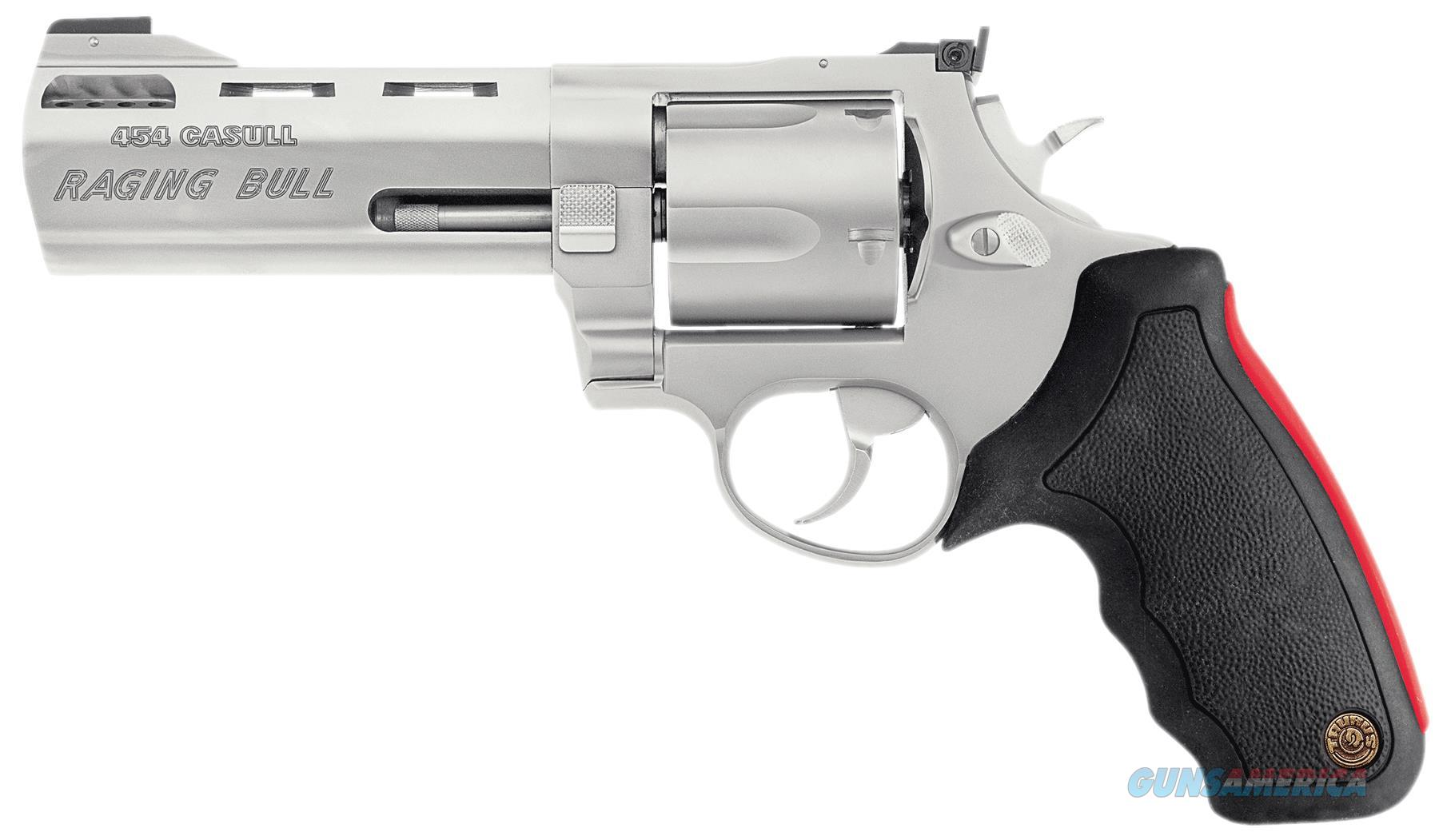 "Taurus 2454029M 454 Raging Bull 454 Casull 2.25"" 5Rd Adj Sight Syn Grip Ss 2-454029M  Guns > Pistols > TU Misc Pistols"