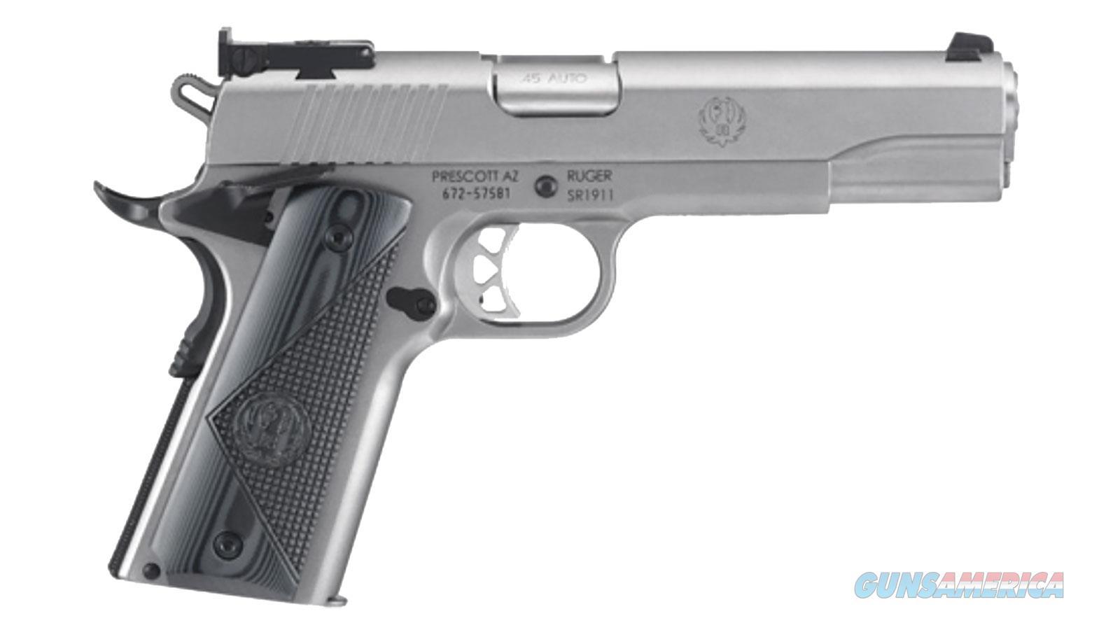 """Ruger Sr1911 Trgt 45Acp 5"""" 8Rd 6736  Guns > Pistols > R Misc Pistols"""