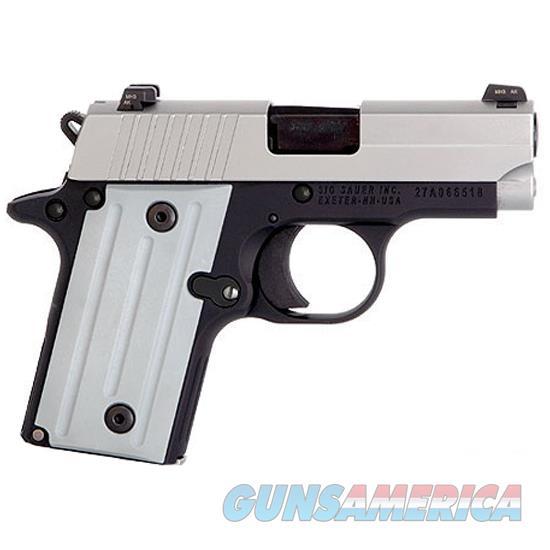 "Sig Sauer P238 .380Acp 2.7"" Night Sight Two-Tone-California 238-380-TSS-CA  Guns > Pistols > S Misc Pistols"