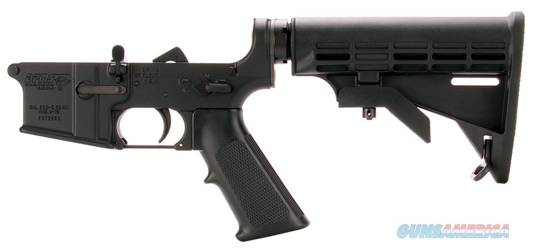 Dpms Lr05ap4 Assembled Lower Ap4 Stock Ar-15 Platform 223 Remington/5.56 Nato Black Hardcoat Anodized LR-05AP4  Guns > Rifles > D Misc Rifles