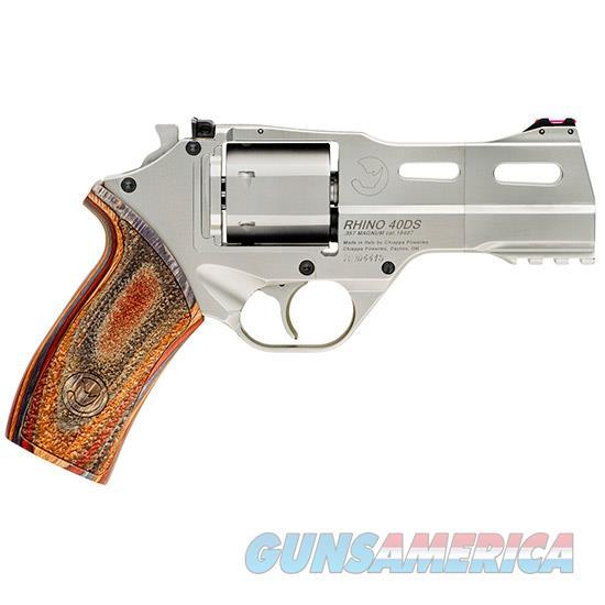 Chiappa Firearmsmks White Rhino 357Mag 4 Brushed Nkl 6R 340222  Guns > Pistols > C Misc Pistols