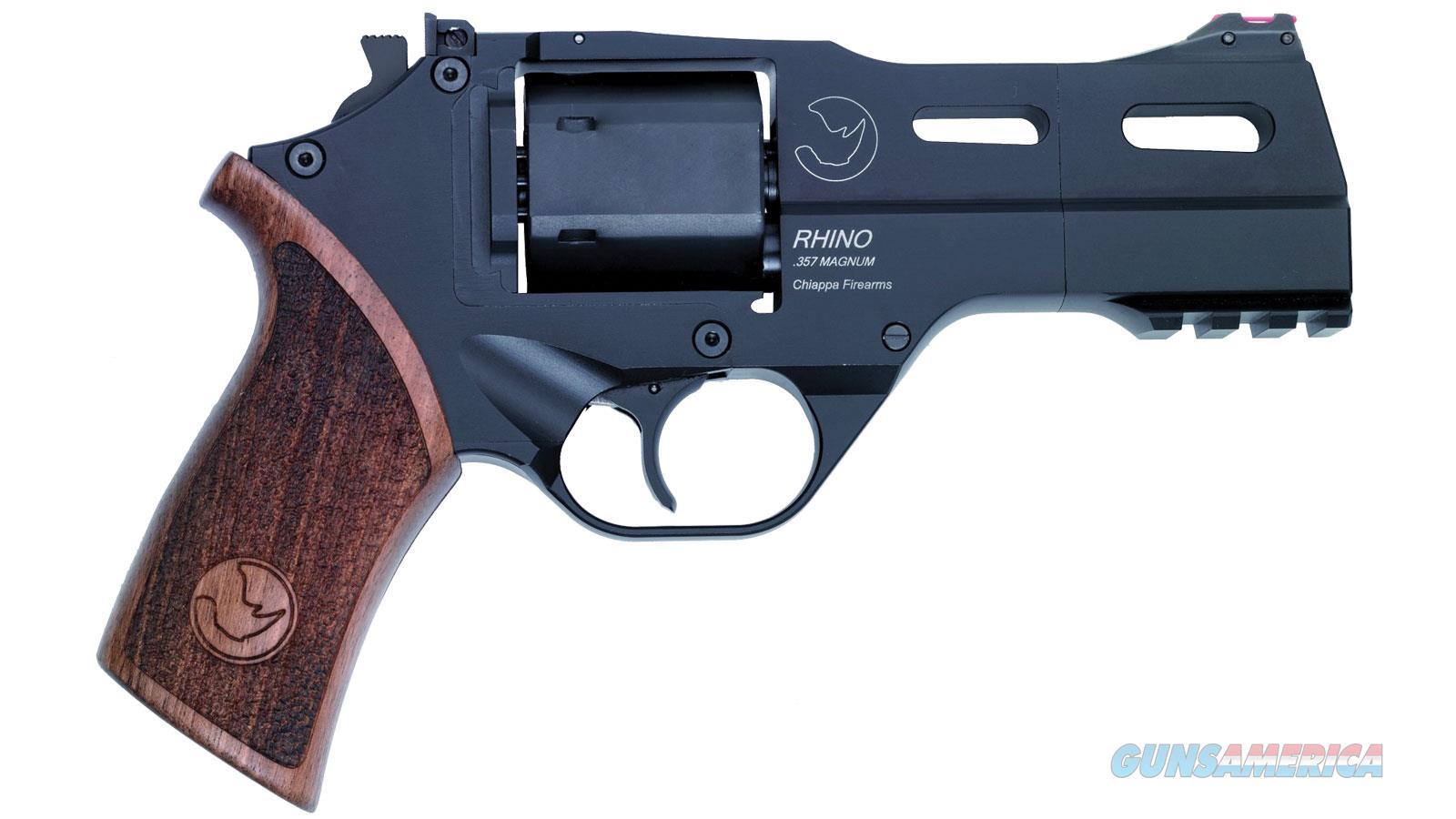 Chiappa Firearmsmks Rhino 40Sar 9Mm 4 Walnut Fos 6Rd CF340.277  Guns > Pistols > C Misc Pistols