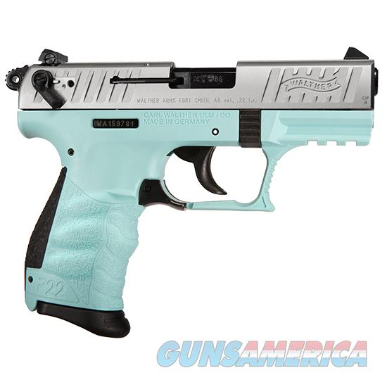 Walther Arms P22 22Lr 3.42 Angel Blue Ca Legal 5120362  Guns > Pistols > W Misc Pistols