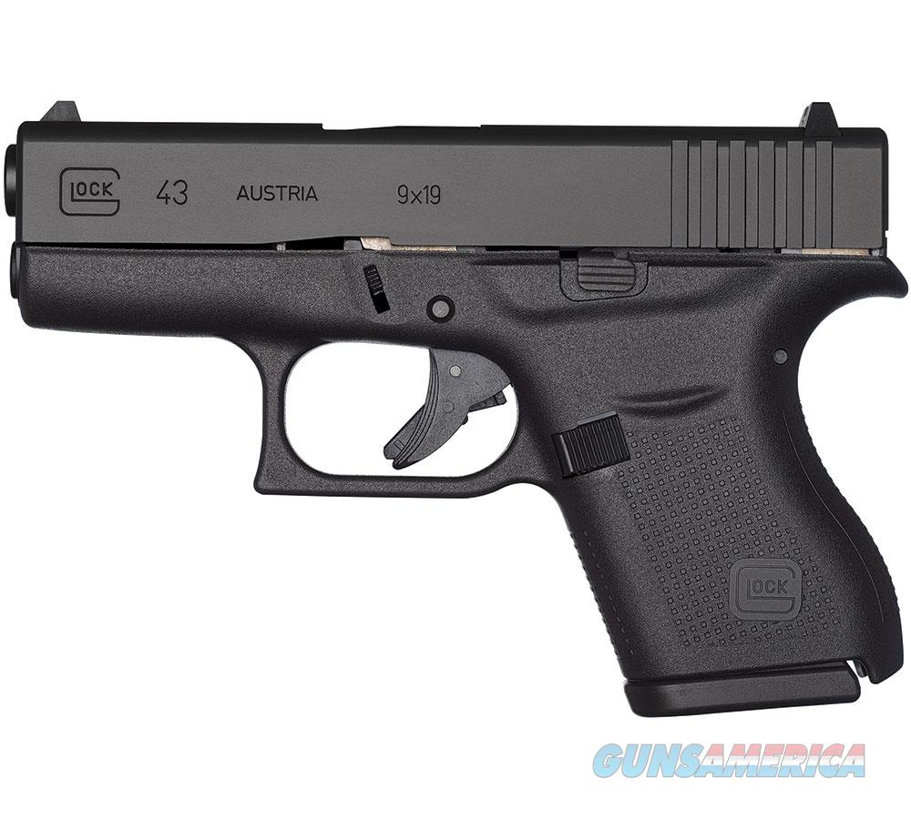 "Glock G43 Fxd 9Mm 3.25"" 6Rd PI4350201  Guns > Pistols > G Misc Pistols"