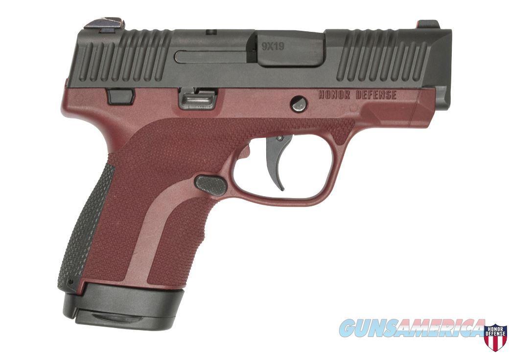 "Honor Defense Hg9scms-Mah 9Mm 3.2"" 7Rd HG9SCMS-MAH  Guns > Pistols > H Misc Pistols"