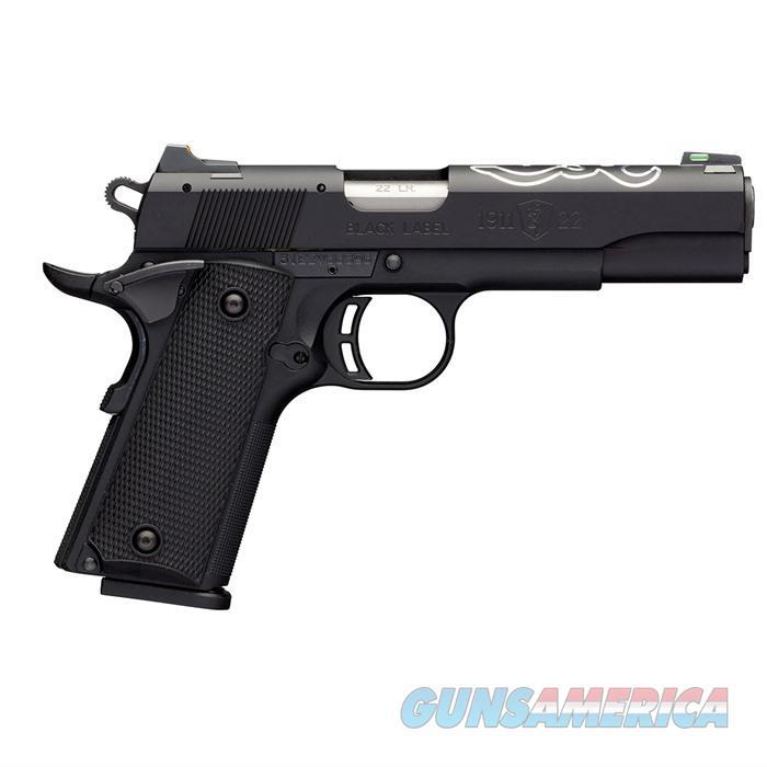 """Browning 1911-22 Black Lite Pistol 10Rd 4"""" Bbl 051835490  Guns > Pistols > B Misc Pistols"""