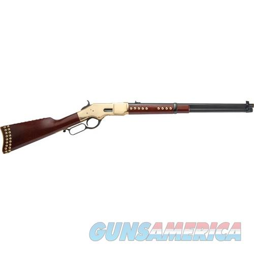"Cimarron Firearms 1866 Indian Carbine .45Lc 19"" Blued Walnut W/Nails CA228G19  Guns > Rifles > C Misc Rifles"