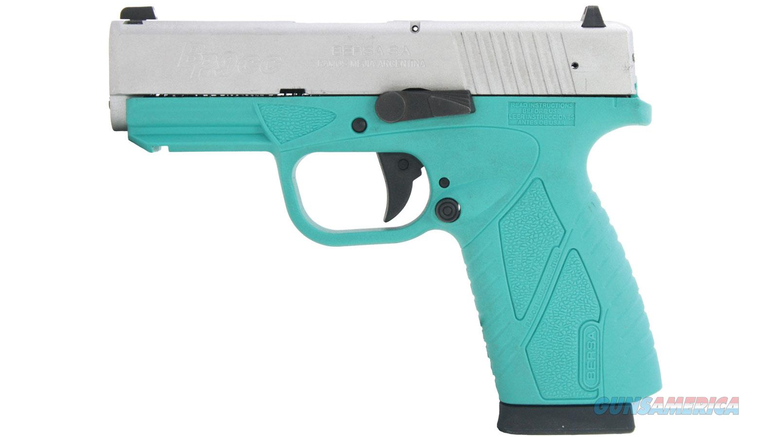 """Bersa Bp9cc 9Mm 3.3"""" 8Rd  Semi BP9TBNCC  Guns > Pistols > B Misc Pistols"""