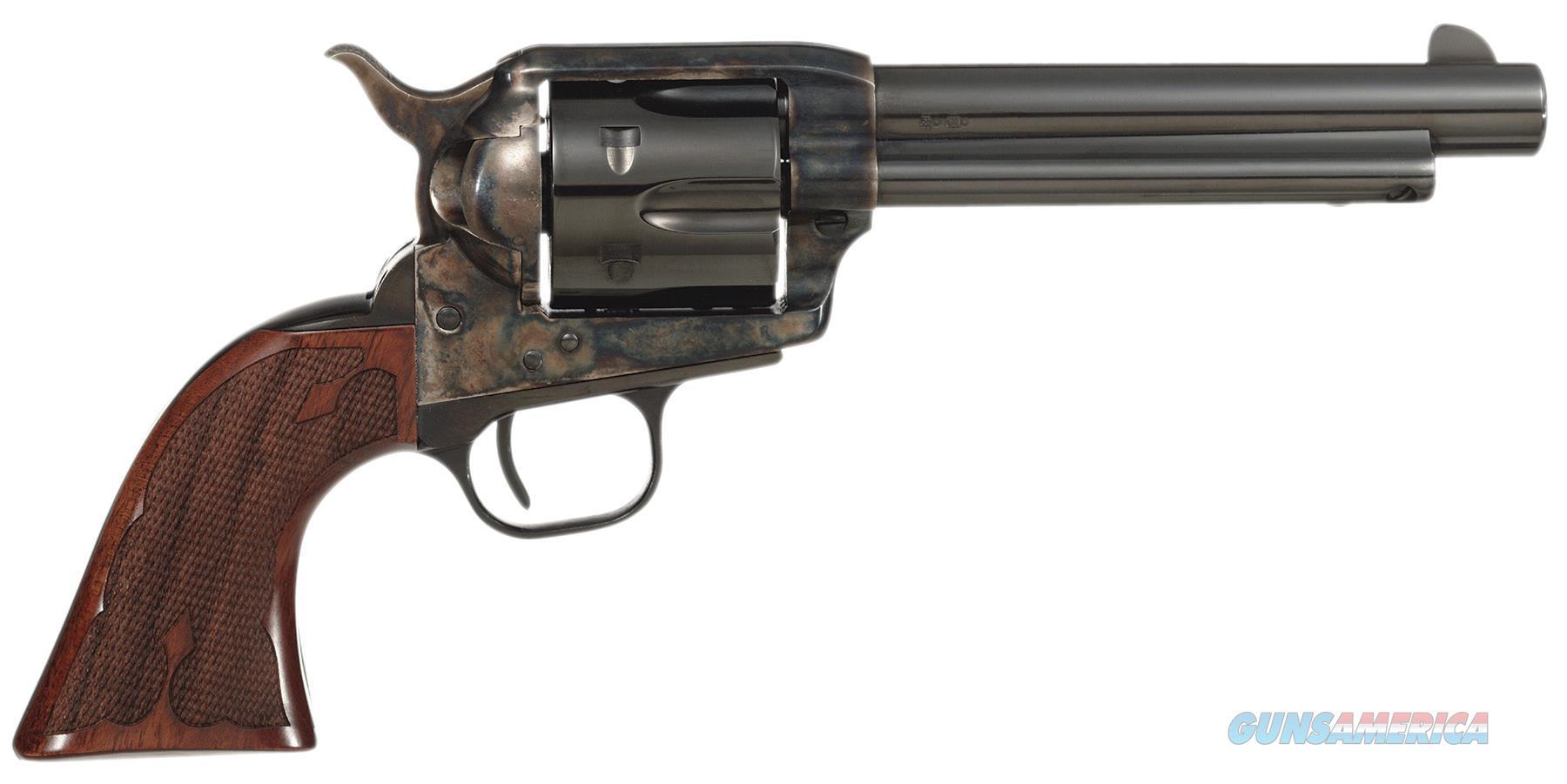 """Taylors&Co 555129 Taylor Gambler 357 Remmag 5.5"""" 6Rd Walnut Grip Ch Blued 555129  Guns > Pistols > TU Misc Pistols"""