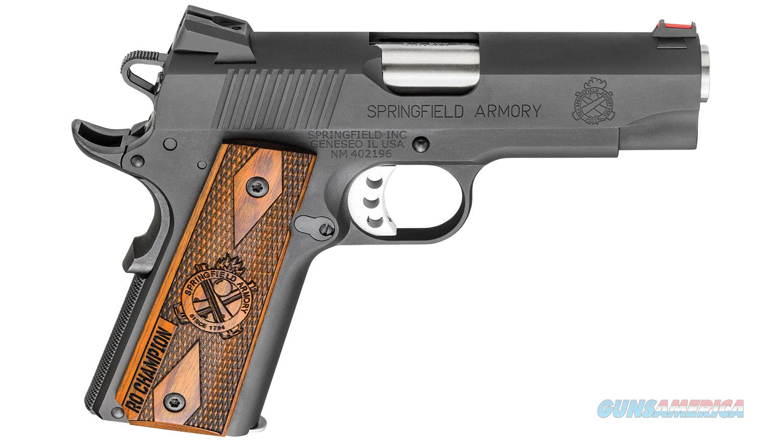 "Springfield Armory 1911 Ro Champ 9Mm 4"" 9Rd PI9137L  Guns > Pistols > S Misc Pistols"