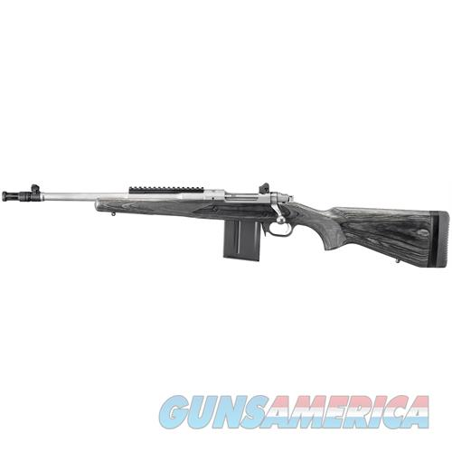 "Ruger 6828 Gunsite Scout Lh Bolt 223 Remington/5.56 Nato 16.1"" 10+1 Laminate Black Stk Stainless Steel 6828  Guns > Rifles > R Misc Rifles"