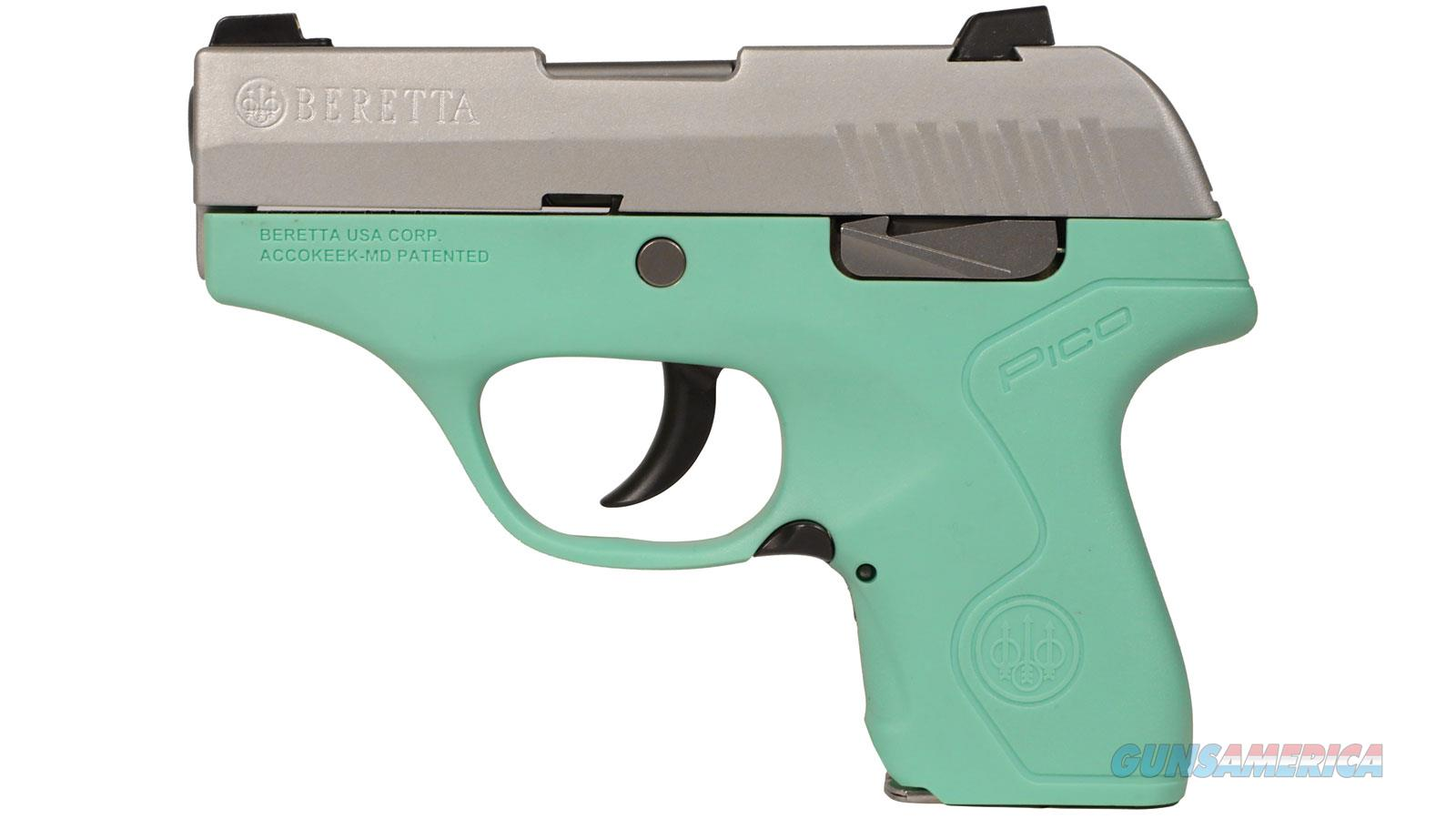 Beretta Pico Inox 380 Acp Fde 6 Rd JMP8D75  Guns > Pistols > B Misc Pistols