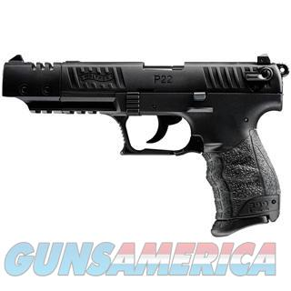 "WALTHER ARMS P22 22LR CA TARGET 5"" 5120334  Guns > Pistols > Walther Pistols > Post WWII > P22"