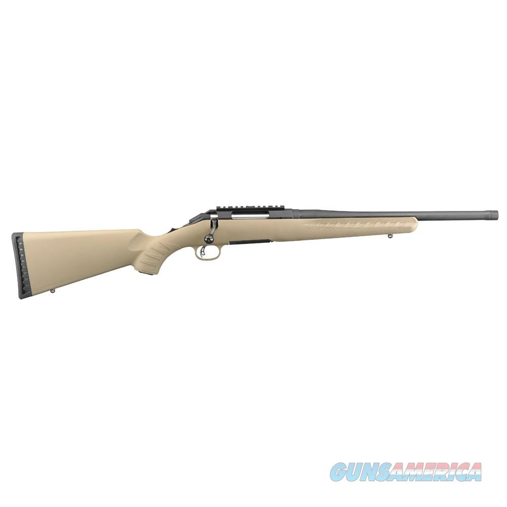 Ruger American Ranch 5.56 Fde/Blk 6965  Guns > Rifles > R Misc Rifles