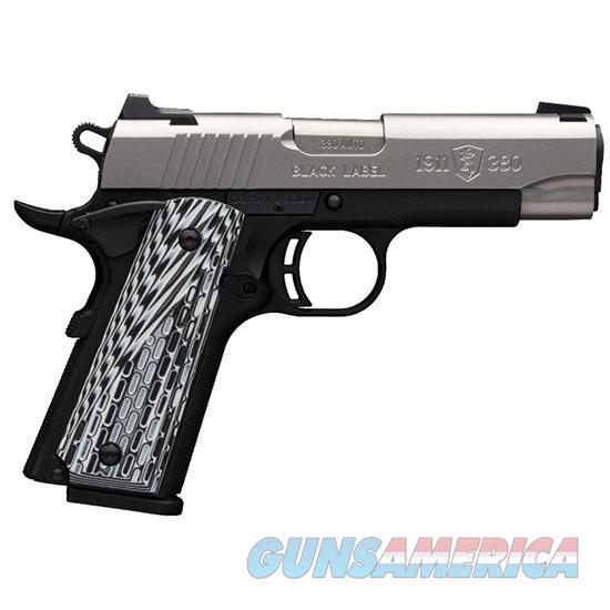 Browning 1911-380 Blk Label Pro Ss 380Acp 3.58 051928492  Guns > Pistols > B Misc Pistols