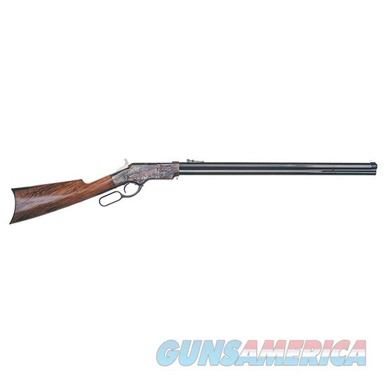 TAYLOR'S & CO UBERTI 1860 HENRY 44-40 STEEL OCT BBL 199  Guns > Rifles > Taylors & Co. Rifles > Winchester Lever Type