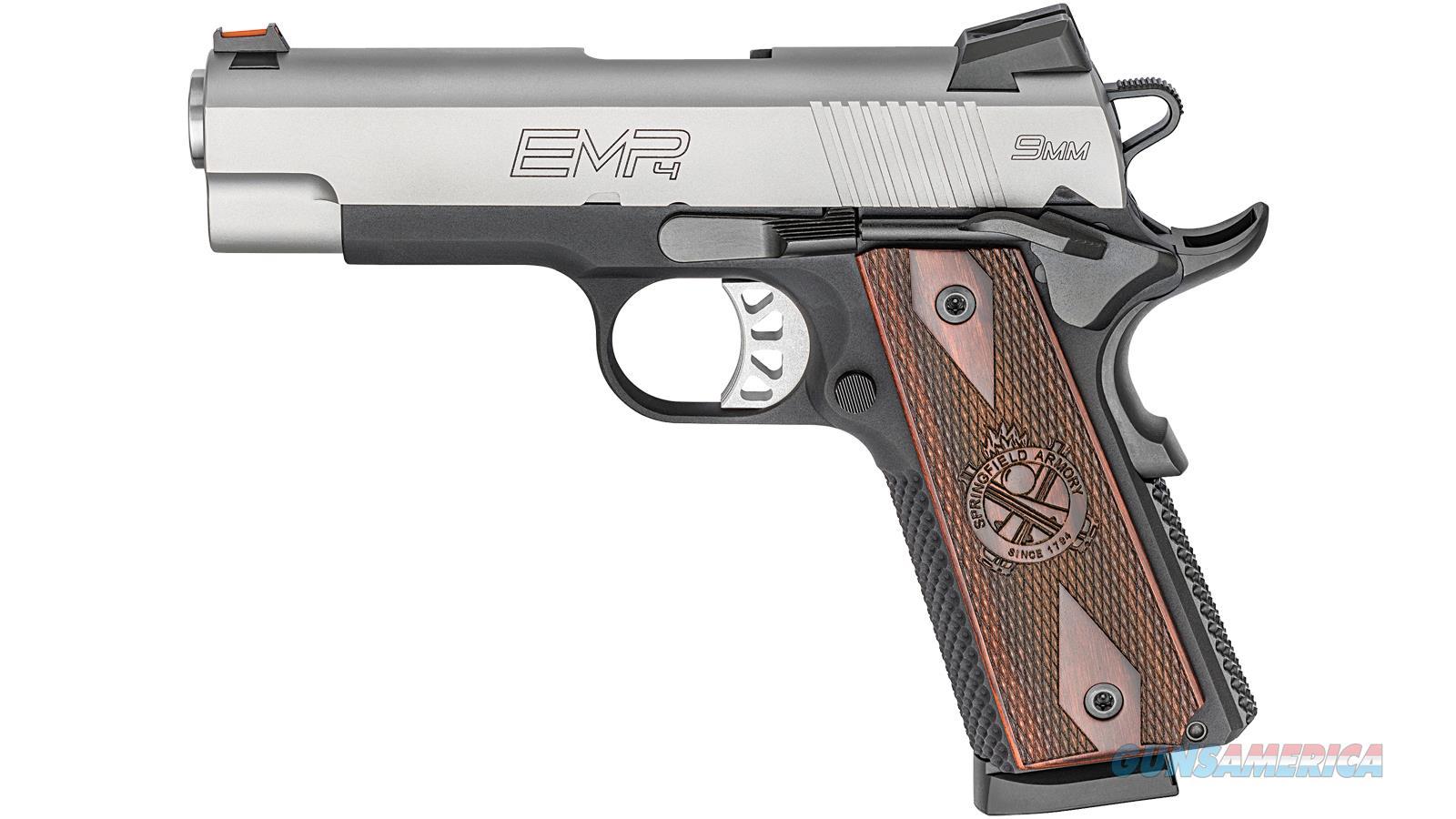 Springfield Armory 1911 Emp 9Mm 4 Lw Bi Tone Champion Cocobol PI9211L  Guns > Pistols > S Misc Pistols