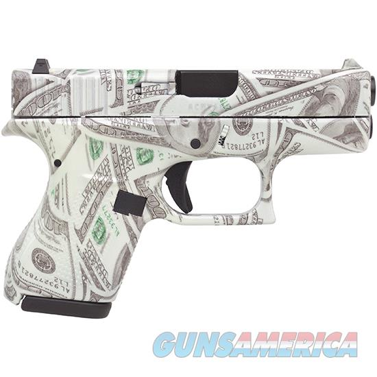 Glock 42 380Acp 3.25 Fs 6Rd Glowing $100 Bills UI4250201BILLS  Guns > Pistols > G Misc Pistols