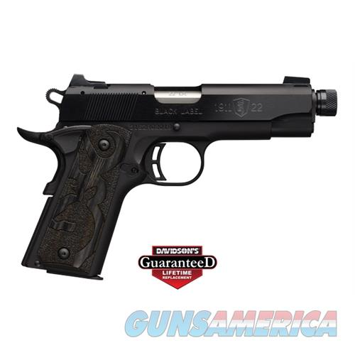 1911-22 Bl Med Cmpt 22Lr Tb  * 051870490  Guns > Pistols > B Misc Pistols