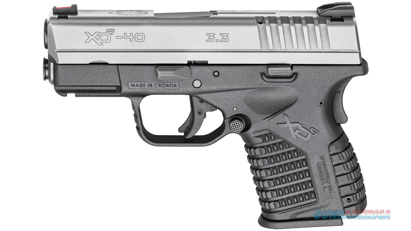 """Springfield Armory Xds 40Sw 3.3"""" 6/7Rd XDS93340SE  Guns > Pistols > S Misc Pistols"""