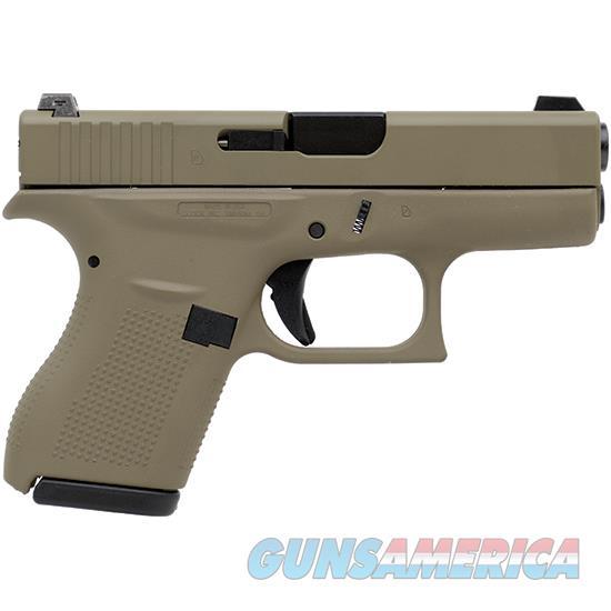 Glock 42 380Acp 3.25 Ns 6Rd Fde Cerakote Finish GER202716  Non-Guns > Gun Parts > Misc > Rifles