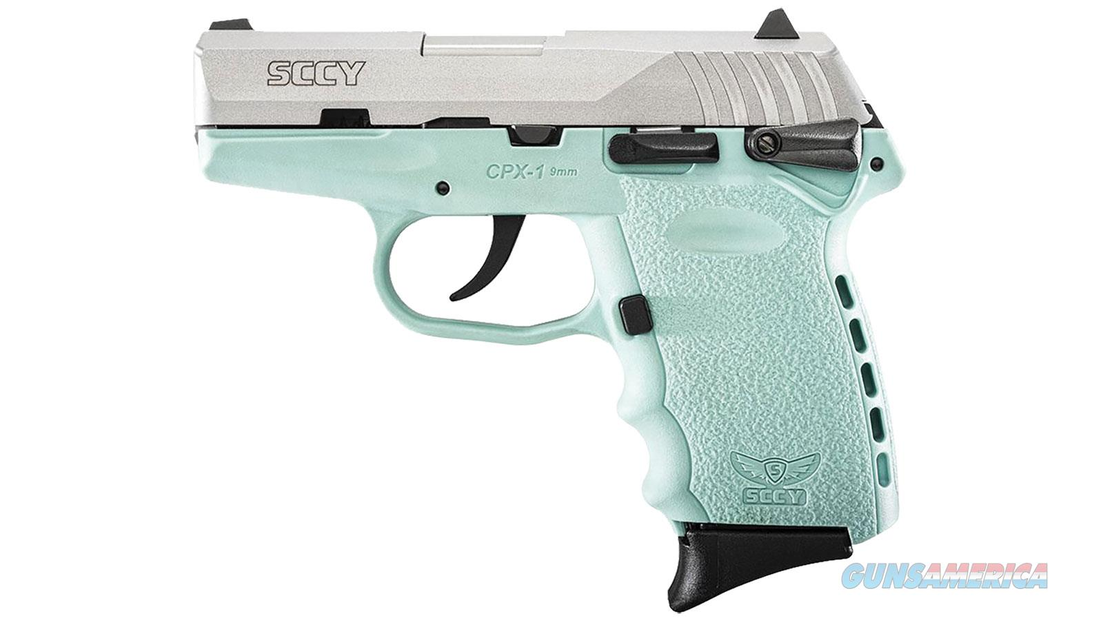 """Sccy Industries Cpx1 9Mm Dao 3.1"""" 10Rd CPX1-TTSB  Guns > Pistols > S Misc Pistols"""