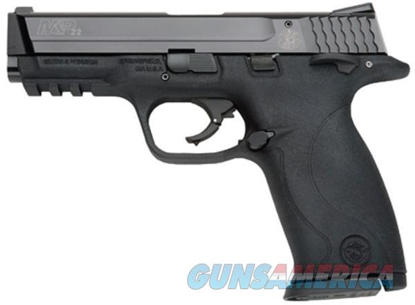 "SMITH & WESSON M&P22 22LR 4.1"" 12RD BL 222000  Guns > Pistols > Smith & Wesson Pistols - Autos > Polymer Frame"