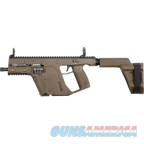 "Kriss Newco Usa Inc Vector Sdp Pistol 40Sw G2 Brace 5.5"" Thread 15Rd Fde KV40PSBFD20  Guns > Pistols > K Misc Pistols"