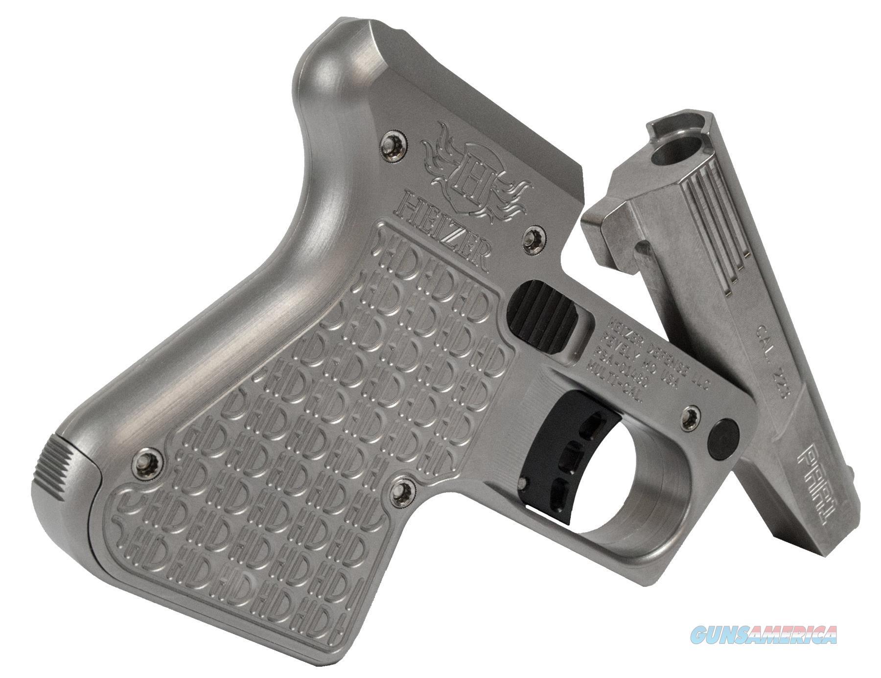"Heizer Par1ss Par1 Pocket Ar Ar Pistol Single 223 Remington/5.56 Nato 3.875"" 1 Round Stainless Finish PAR1SS  Guns > Pistols > H Misc Pistols"