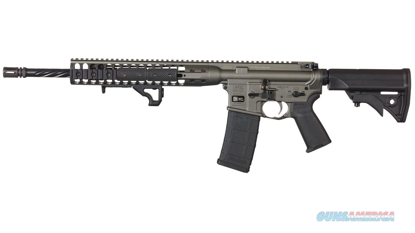 "Lwrc Ic-Di 5.56 16"" 30Rd ICDIR5TG16  Guns > Rifles > L Misc Rifles"