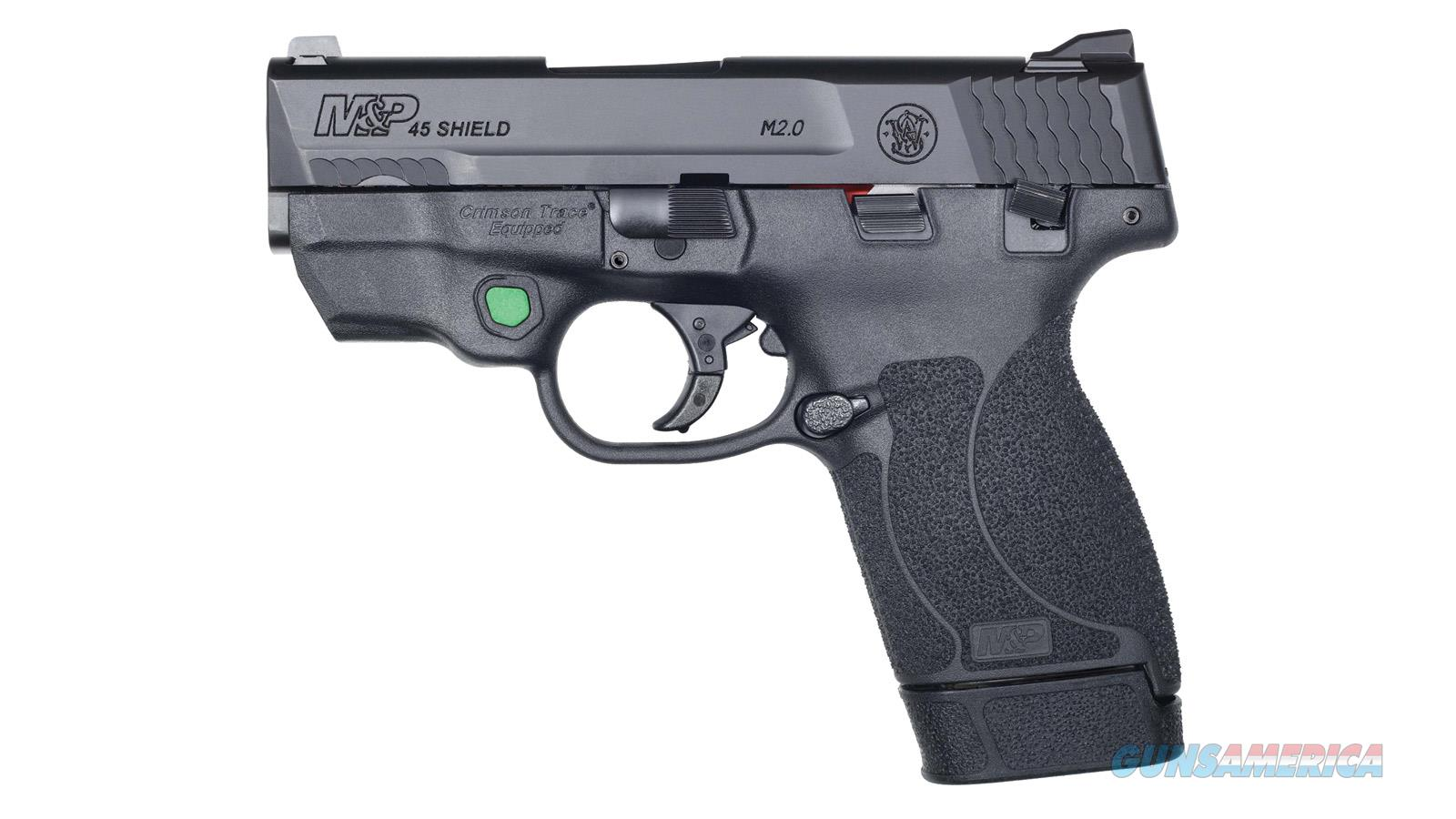 Smith & Wesson M&P45 Shield M2.0 45Acp Ct Green Laser Ts 12089  Guns > Pistols > S Misc Pistols