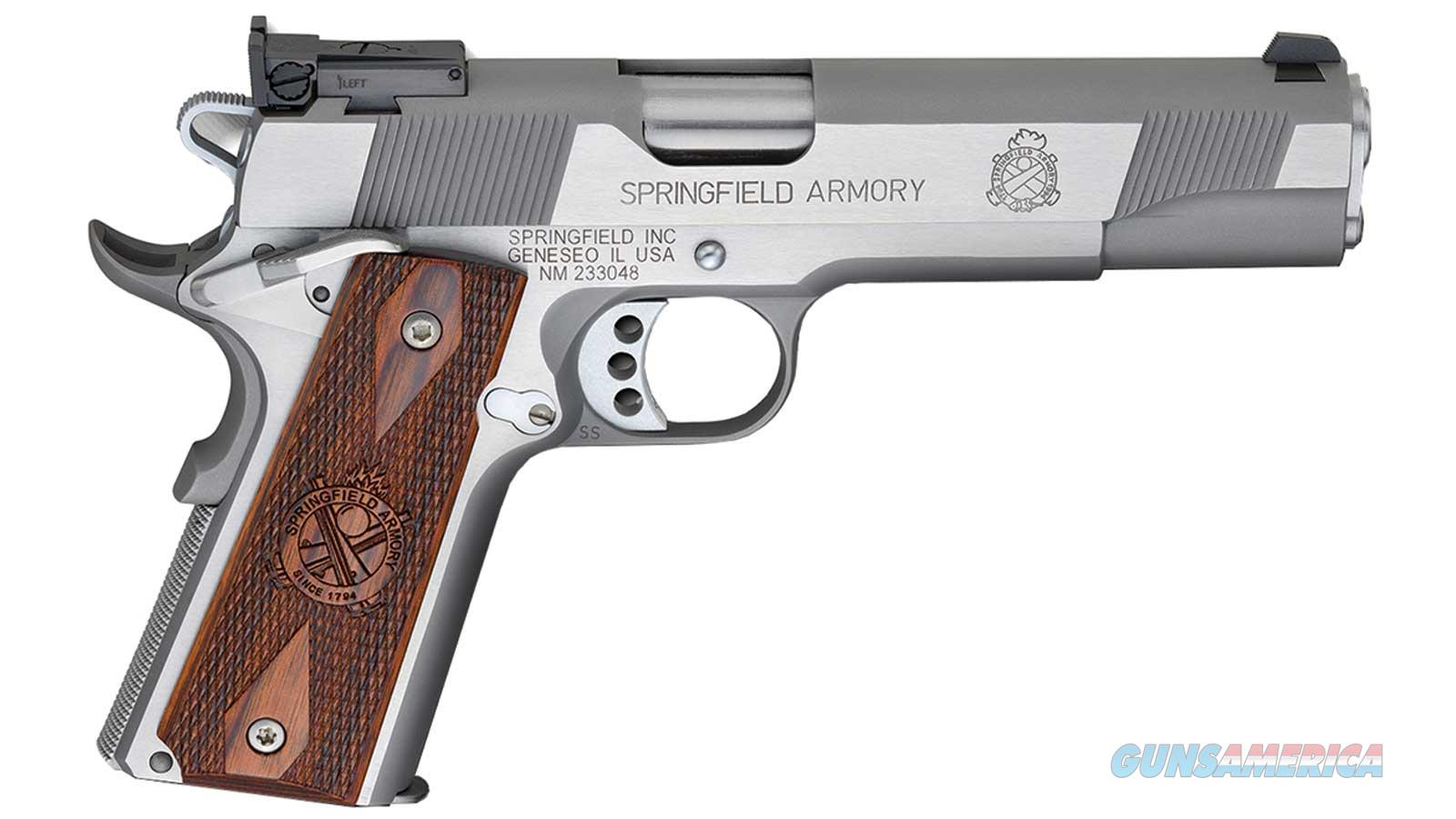 Springfield Armory 1911 Target 45Acp 5 Ss As Loaded Ca Legal PI9132LCA  Guns > Pistols > S Misc Pistols