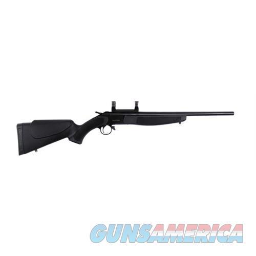 "Cva Cr5910 Hunter Break Open 35 Whelen 22"" W/Scope Mount Black Syn Stock Blued CR5910  Guns > Rifles > C Misc Rifles"