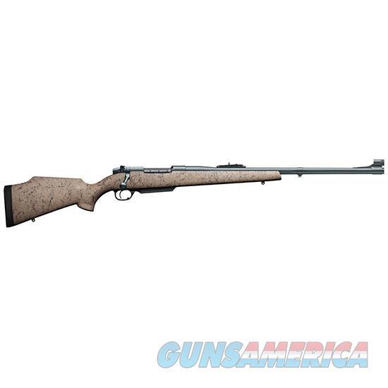 Weatherby Mkv Dgr 375Wby 24 Tan Blk Web Matte MDGM375WR4O  Guns > Rifles > W Misc Rifles