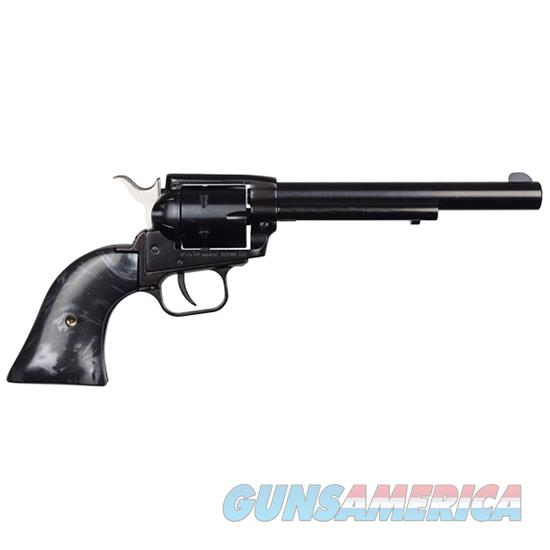 Roughrider 22Lr 6 1/2''  6 Rd Black Pearl RR22B6BLKPRL  Guns > Pistols > Heritage