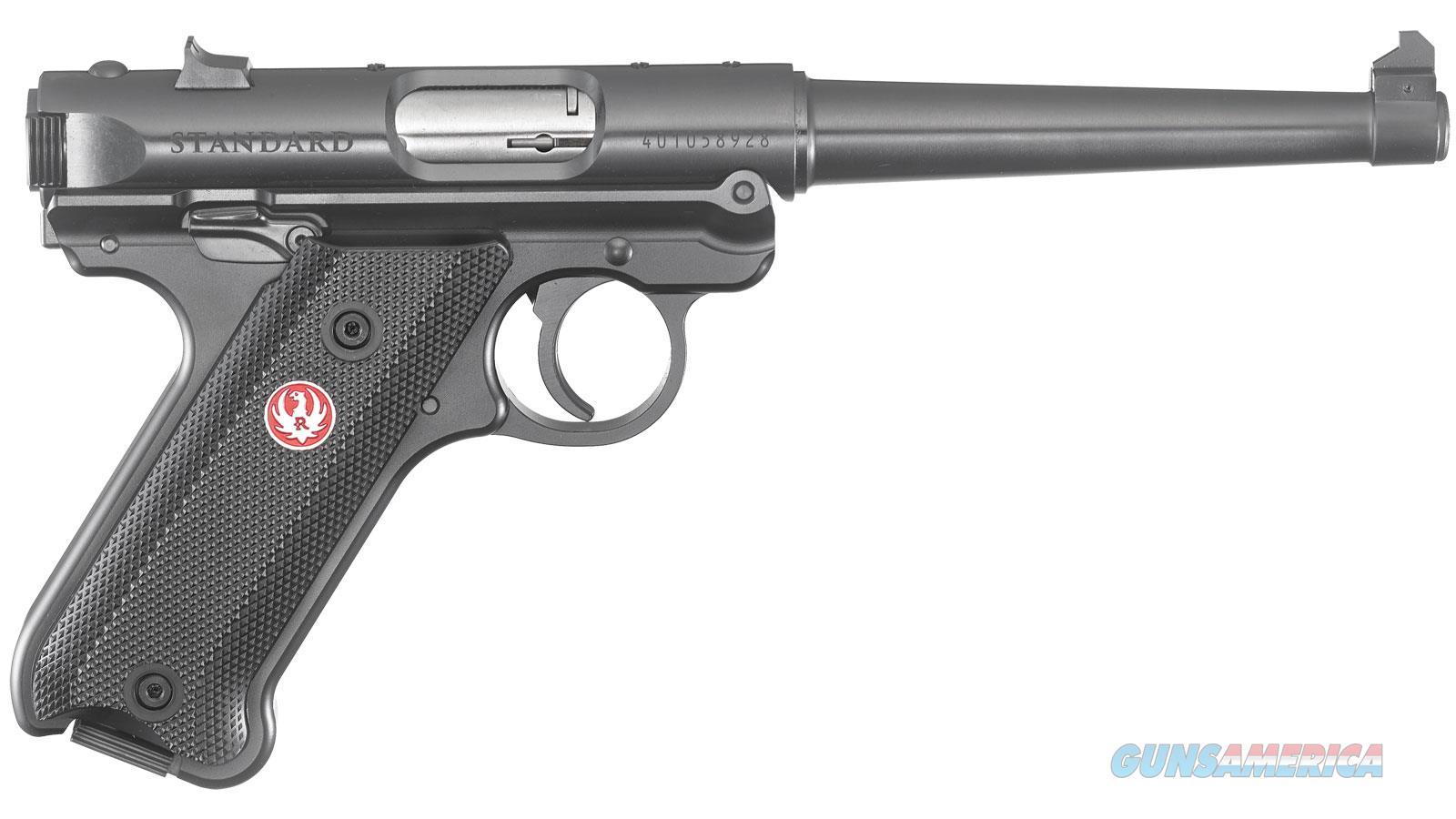 """Ruger Mark Iv Std 22Lr 6"""" 10Rd 40105  Guns > Pistols > R Misc Pistols"""