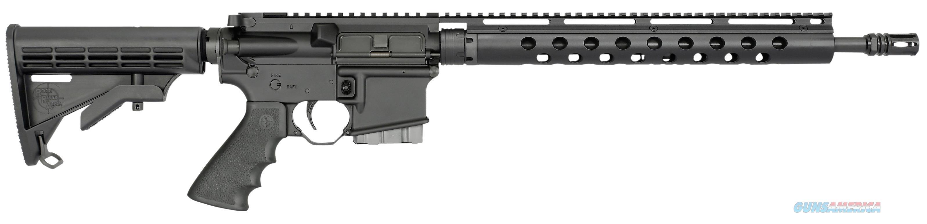 "Rock River Arms Mt1800 Lar-15 Lightweight Mountain Rifle Semi-Automatic 223 Remington/5.56 Nato 16"" 30+1 6-Position Black Stk Black MT1800  Guns > Rifles > Rock River Arms Rifles"