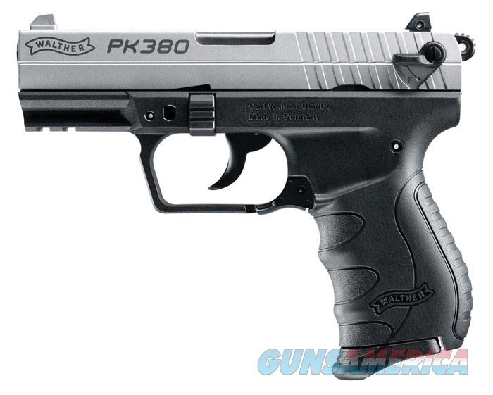 "WALTHER ARMS PK380 .380 AUTO NKL,3.66"" 5050309  Guns > Pistols > Walther Pistols > Post WWII > PK380"