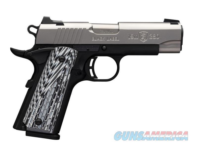 1911-380 380Acp Cmp Ss Rail 051925492  Guns > Pistols > B Misc Pistols