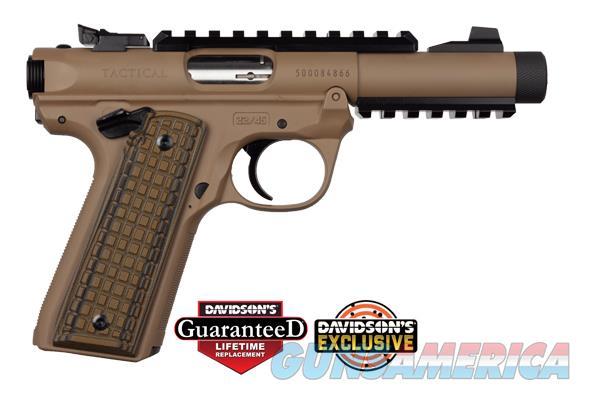 Ruger Mkiv 2245 Tact 22Lr 4.4Dde 40167  Guns > Pistols > R Misc Pistols