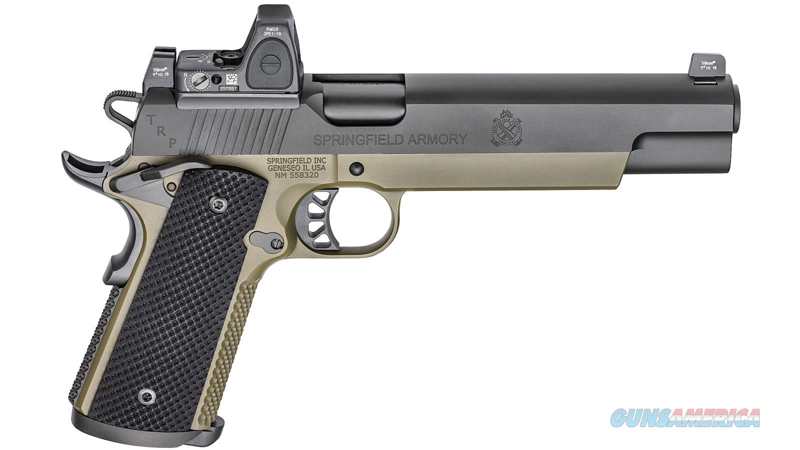 Springfield Armory Trp 10Mm Longslide Rmr Sight Black T PC9610RMR18  Guns > Pistols > S Misc Pistols