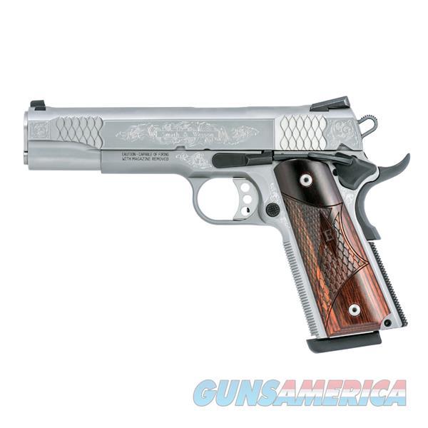 Smith & Wesson 1911 45Acp 5 Wood Grips Ss Dot Sights Sao 10270  Guns > Pistols > S Misc Pistols