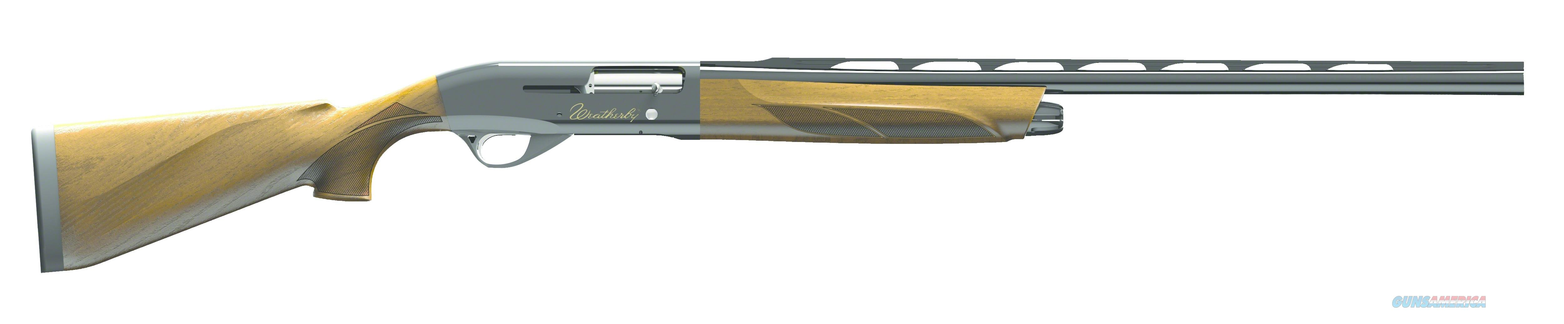 "WEATHERBY ELEMENT DELUXE 20G 26"" 3RD EDX2026PGG  Guns > Shotguns > Weatherby Shotguns > Hunting > Autoloader"