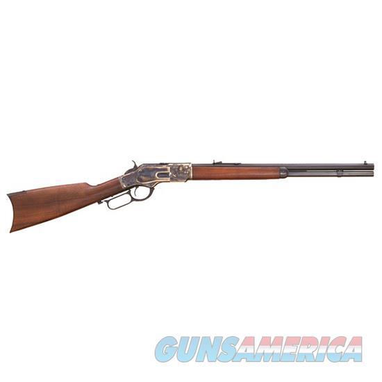 Cimarron Firearms Uberti 1873 Short Rifle 45Lc 20 Case Hard CA281  Guns > Rifles > C Misc Rifles