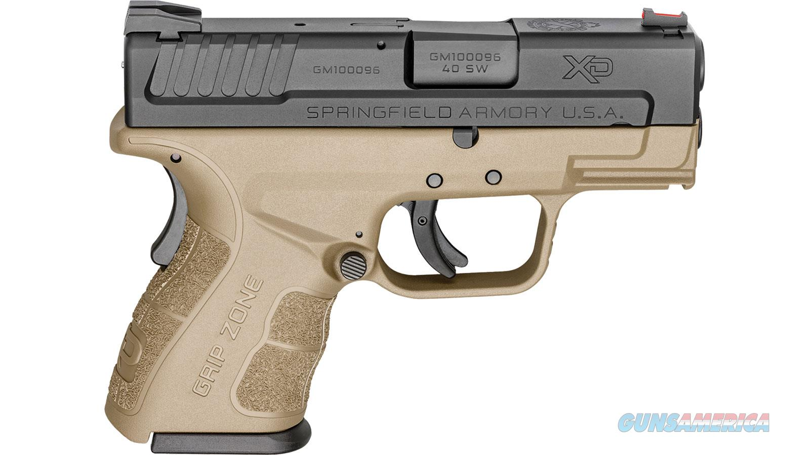 "Springfield Armory Xdg Mod.2 40Sw 3"" 10Rd XDG9802FDE  Guns > Pistols > S Misc Pistols"