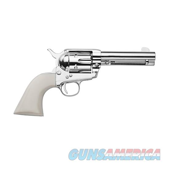Traditions Frontier 1873 45Lc 5.5 Nkl Sa White Pvc SAT73132  Guns > Pistols > Traditions Pistols